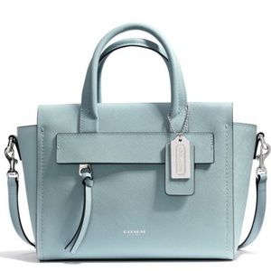 Coach Bleecker Riley Satchel WITH FREE WALLETS